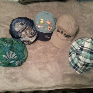 Bundle of Boys Caps